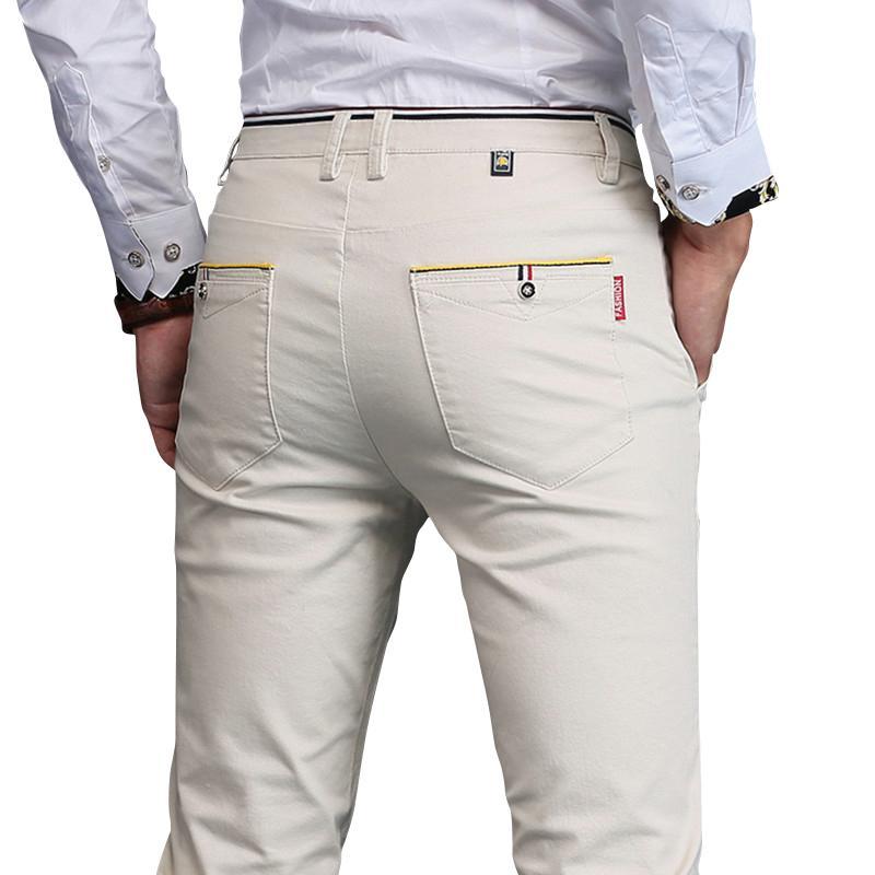 3c0abf39569d5 Wholesale- 2017 New Design Casual Men Pants Men Cotton Pants ...