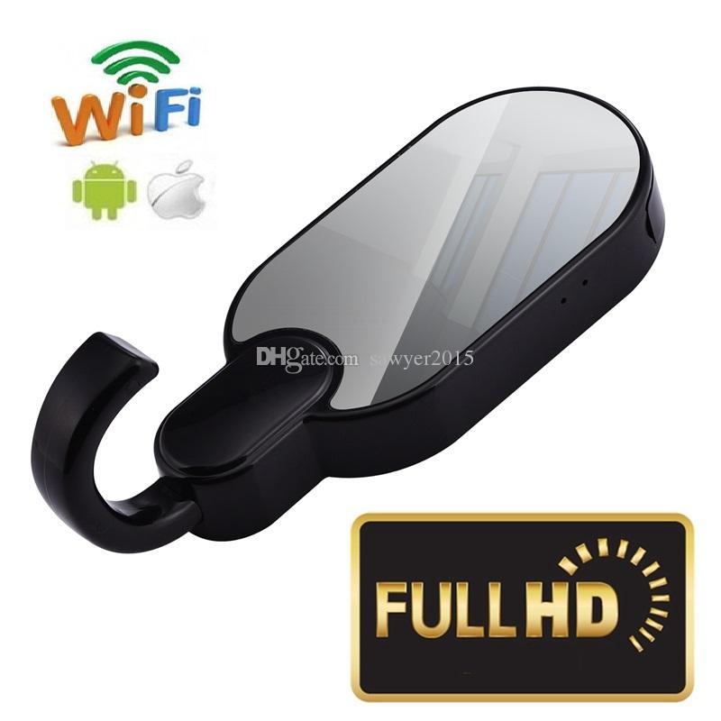 Беспроводной WiFi крючок для одежды камеры HD 1080P вешалка для одежды pinhole камеры поддержка ночного видения обнаружения движения Clothers крюк MINI DV DVR