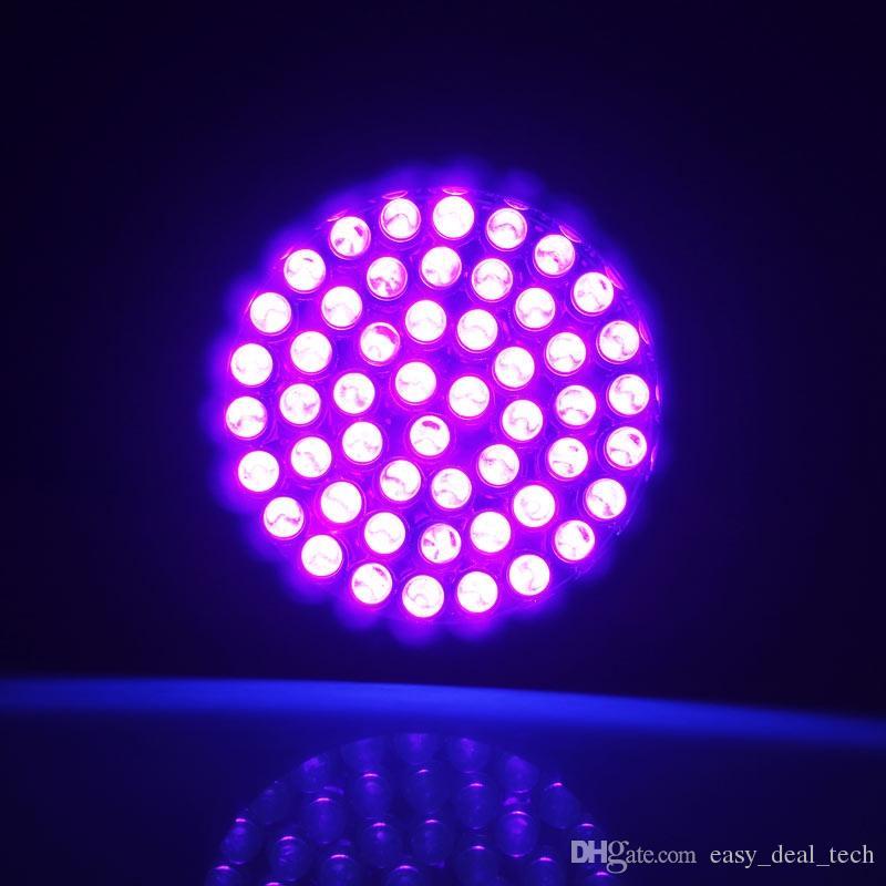 Mini 395-410nm 51 LED UV-Lampen Ultra Violet Taschenlampe Lampe Hintergrundbeleuchtung Tinte Marker Tragbare Taschenlampe Lampe Licht Schwarz ZJ0357
