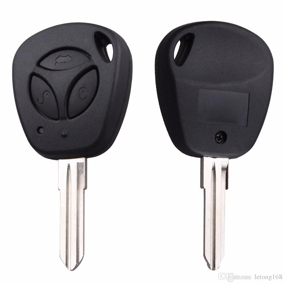 Guaranteed 100% Replacement Car Key Shell For Lada Uncut Auto Blank Remote Key Case Cover Fob priora kalian 3 Buttons