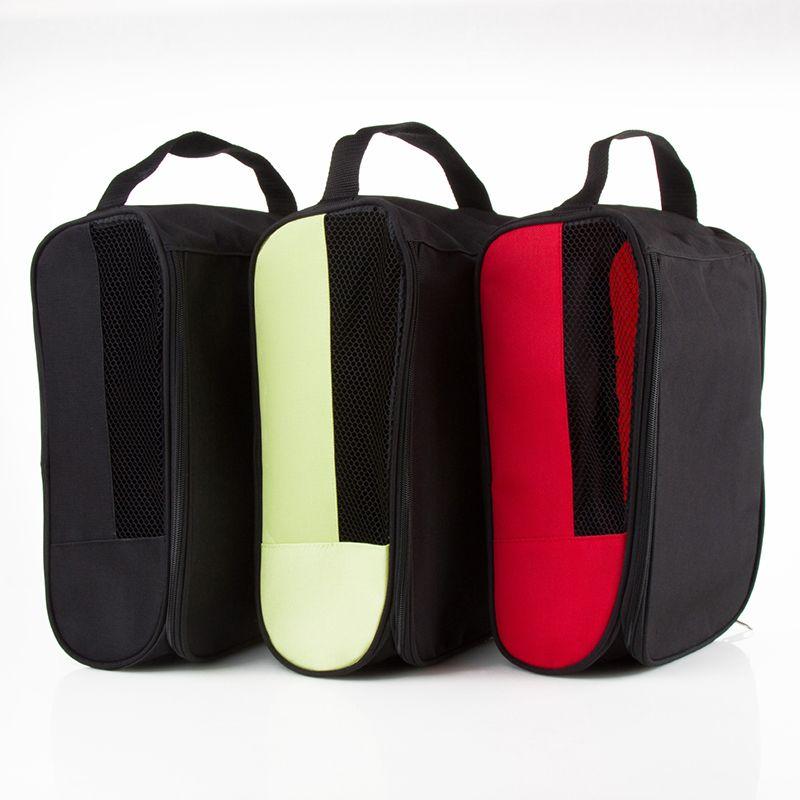 Portátil Breathable botas de fútbol caja de almacenamiento a prueba de polvo zapatos de fútbol bolsa de deportes de rugby golf travel carry case