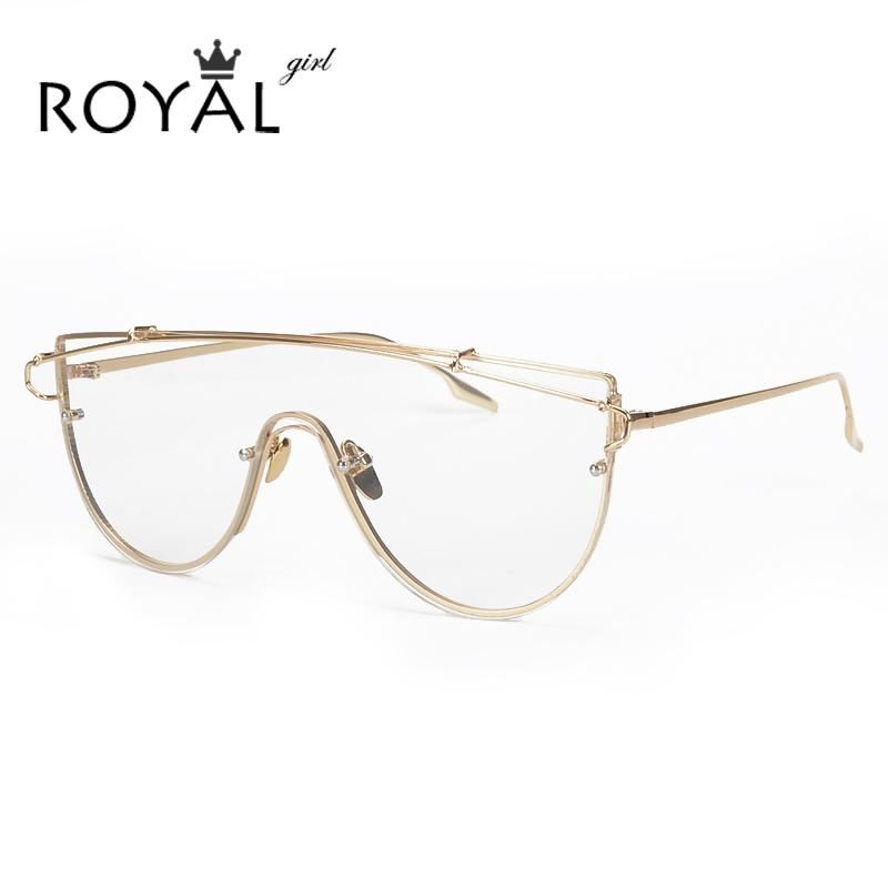 a124b470d8 Wholesale- ROYAL GIRL New Unique Metal Eyeglasses Frames Designer ...