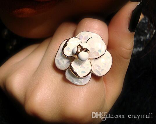 Фритиллярия Камелия кольцо белые цветы кольца серьги
