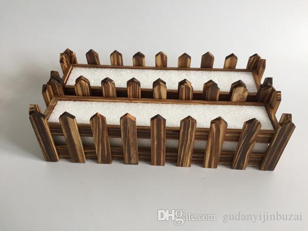 Fioriera bianca Fioriera decorativa in legno Fioriera in legno Fioriera Fioriera Vaso da giardino Vaso artificiale SF-083W