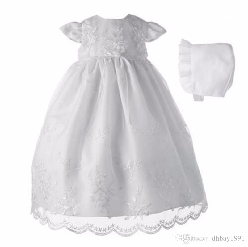 2018 High Quality Custom Made Baby Girls Christening Gown Lace ...