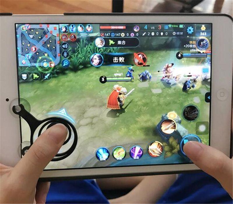Mini Mobile Game Clip Joystick Phone Sucker Joypad Paste Handle Wheel Mouse Gamepad Rocker Joypad Controlador de tableta para Android Smartphone
