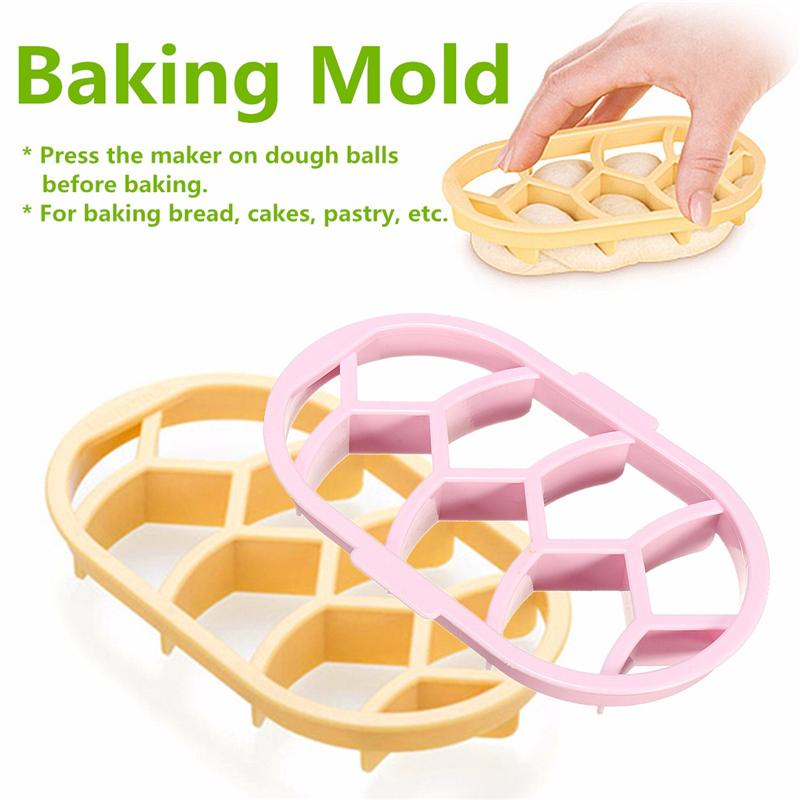 Aomily DIY Maker Mold Cake Bread Seal Cutter Tools for Kitchen Baking Decorations Home Furnishing Products Baking Pastry Cutters