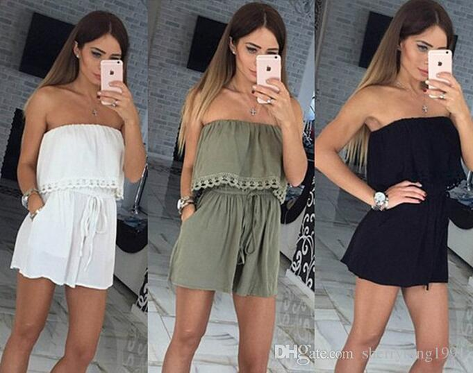 Sexy Jumpsuits Solid Playsuits Elegant Jumpsuits Style Club Outfit