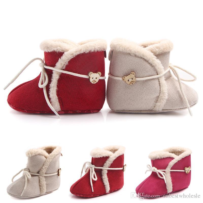 Großhandel Weihnachten 2018 Infant Baby Mädchen Schnee Stiefel Bebe ...