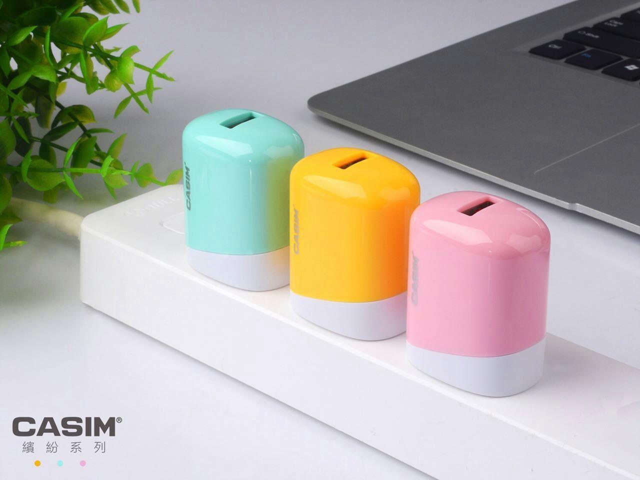 CASIM USB Seyahat Şarj Adaptörü Hızlı Şarj Blok Tak iphone 5 6 6 s 7 Artı, Samsung Galaxy S8 Note4 s7 Kenar