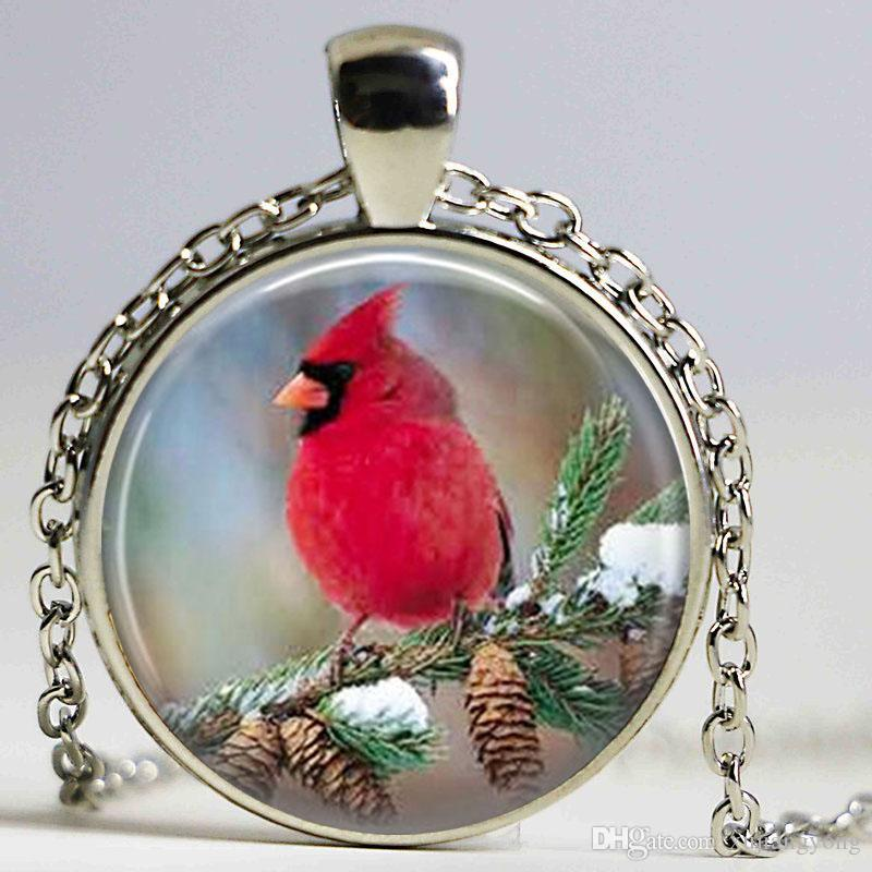 mythical necklace rich cardinal main reds kelleher lisa bird silver product