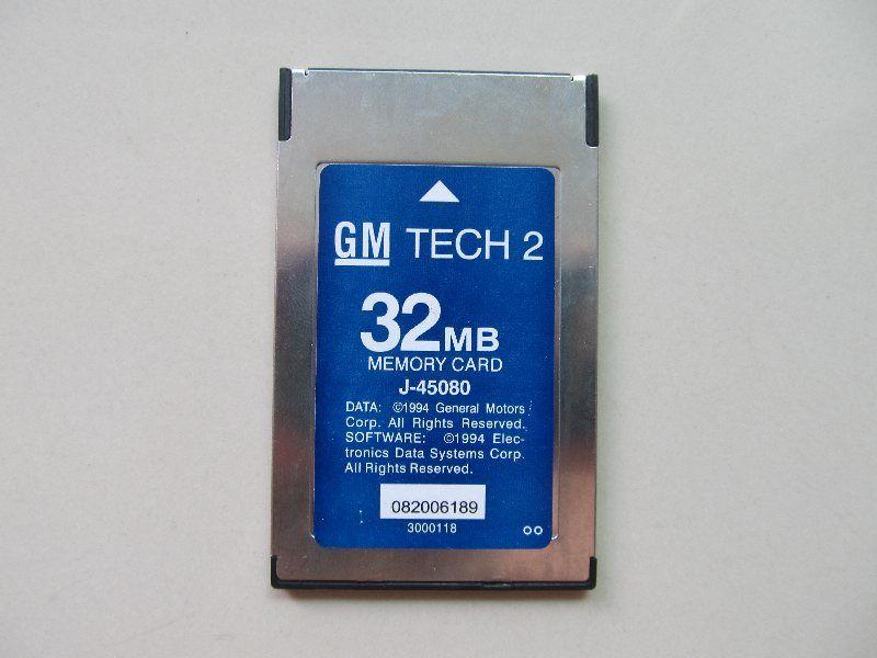 GM Tech2 32 MB Memory Card GM Tech 2 Card For GM/Holden/Isuzu/Opel/Saab/Suzuki tech2 32mb Memory card Tech 2