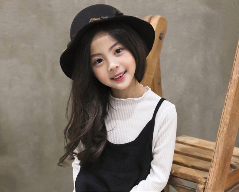 79d11b7b 2019 Fashion Tassel Girls Caps Korean Bucket Hat Colorful Tassel Cloche Hat  Autumn Winter Kids Fedora Hats Christmas Gift Sun Cap C2016 From  Cherry_room, ...