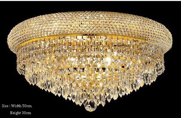 Plafoniere In Cristallo Miglior Prezzo : Acquista phube lighting empire gold plafoniera in cristallo