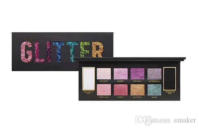Brand MAKEUP Glitter Bomb Eye shadow Palette PRISMATIC Eyeshadow High quality free fast shipping