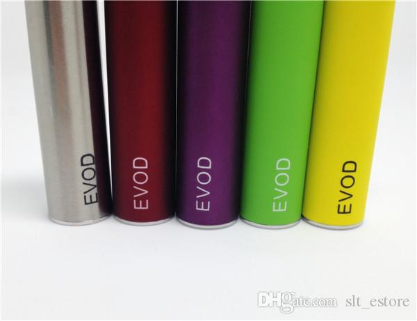 Ecigs EVOD 650mah 900mah 1100mah battery for Ecigarette MT3 CE4 G2 oil cartridge oil vape pens Electronic Cigarettes