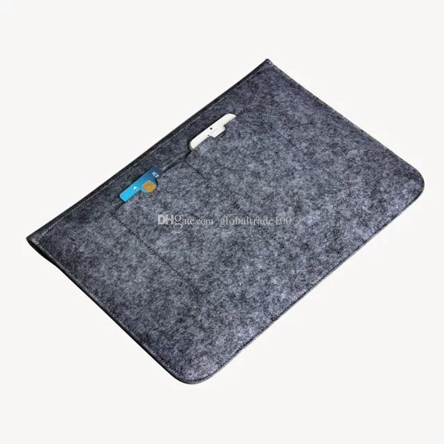 For Macbook 11.6 13.3 15.4 Air Pro Retina Touch Bar Fashion Soft Sleeve Laptop Bag Notebook Cover Case