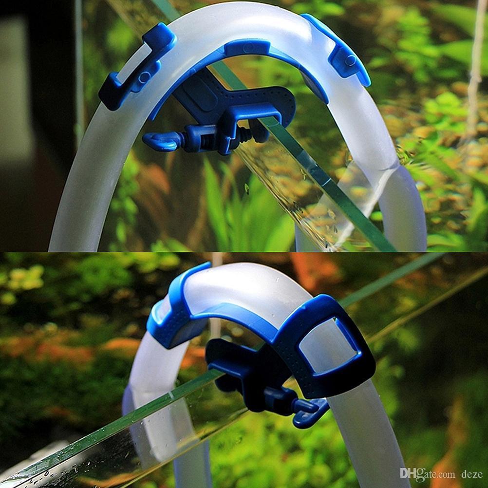 50 Teile / los Aquarium Wasserschlauchhalter Wasserleitung Filter Für Montieren Rohr Clip Aquarium Halten Schlauch Befestigungsschelle Zubehör