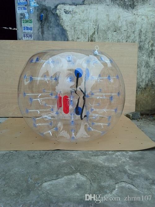 전문 상점 범퍼 공 1.5 M 직경 방울 공 문 스포츠 풍선 공 PVC 0.8 mm
