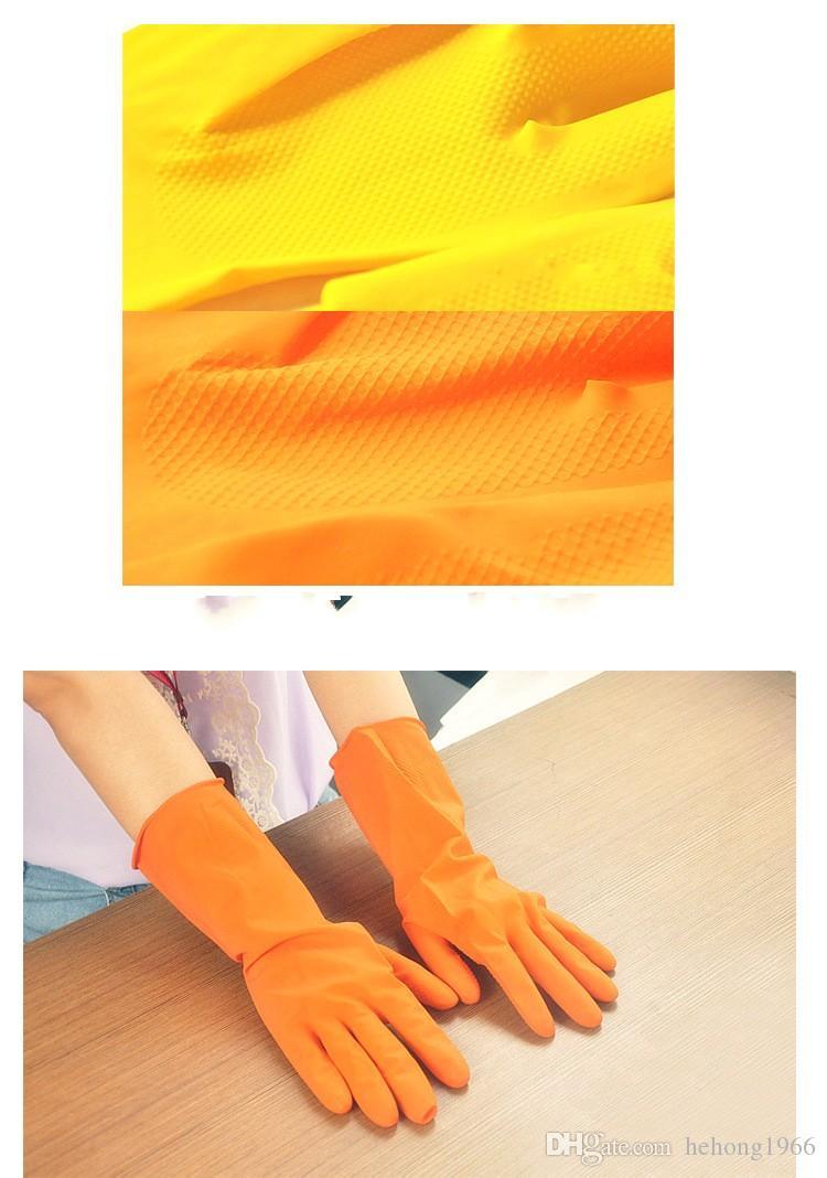 Guanti pulizia Guanti bucato Guanti da lavoro in gomma Guanti in lattice Guanto da cucina lungo Lavaggio Guanti da cucina Alta qualità 0 92rr R