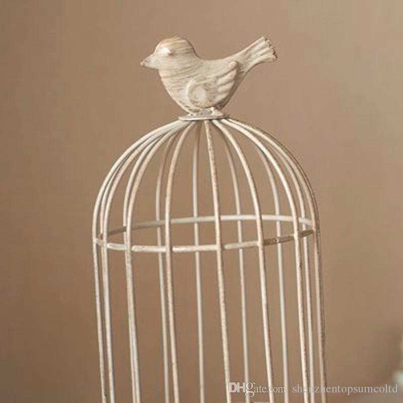 새로운 디자인 캔들 홀더 공장 판매 유럽 birdcage 랜턴 콘티넨탈 철 촛대 웨딩 홈 촛대 freeship