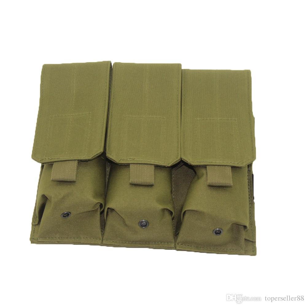 AR15 M4 5.56mm 매기 권총 권총 슈팅 조끼 도구 덤프 드롭 가방에 대한 사냥 Airsoft 야외 몰 전술 전술 트리플 포스터 권총 집