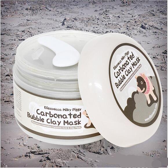 makeup milky piggy carbonated oxygen bubble clay Mask 100g remove blackhead acne Purifying pores face care facial sleeping mask Elizavecca