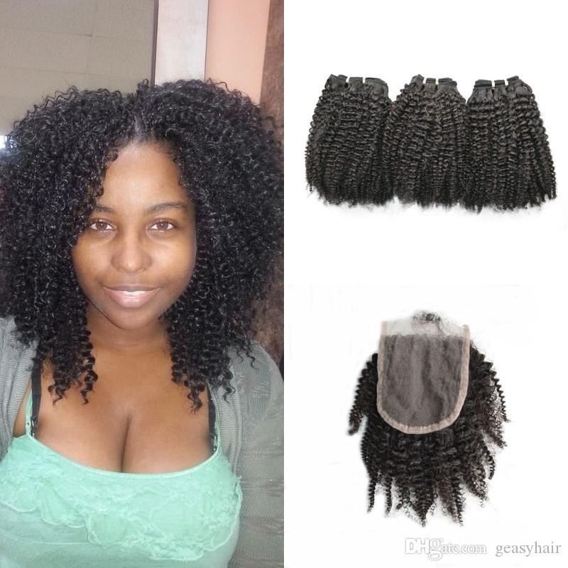 peruvian human hair with bundles unprocessed afro kinky curly virgin