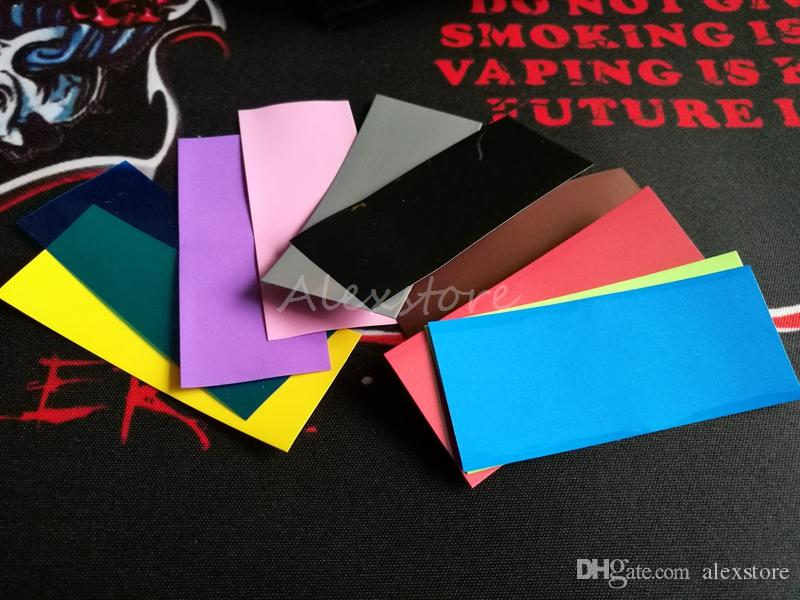 18650 20700 14500 26650 32650 battery PVC Skin Sticker Shrinkable Wrap Cover Sleeve Heat Shrink Re-wrapping for Batteries Charger Vape DHL