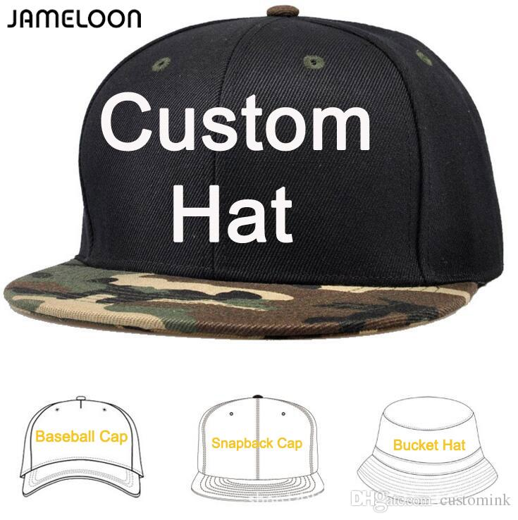 f0af1e57 Zefit / Customize Make Snapback Caps DIY Embroidery Printing Logo Own Design  Baseball Hats Fashion Cap Mixed Styles Flat Bill Hats Baseball Hat From ...