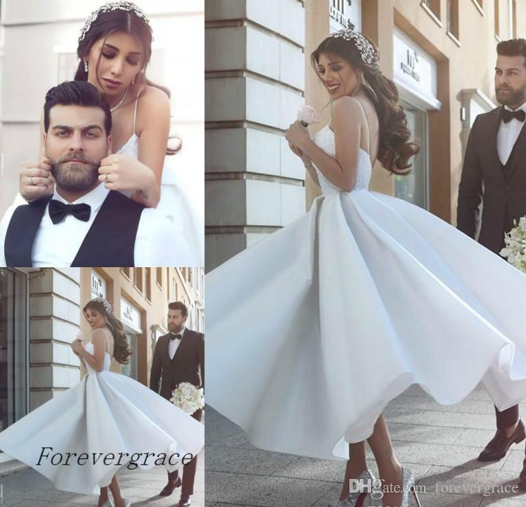 Discount Cheap Said Mhamad A Line Wedding Dress Romantic