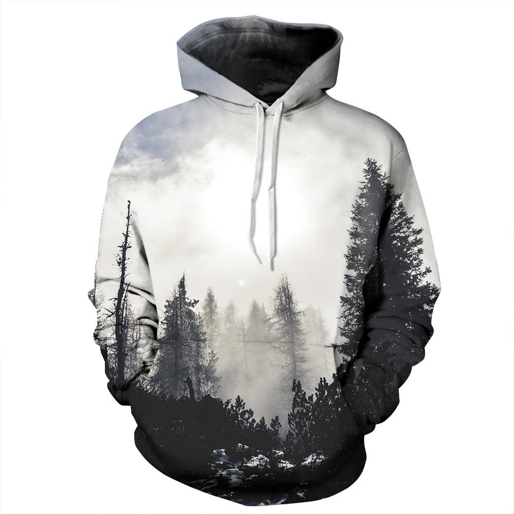 ded3a1296dba 2019 Youthcare Hoodie For Men And Women 3D Printed Galaxy Gray Tree Hoodie  Oversize Pullover Long Sleeve Tops Sweater From Youthcare