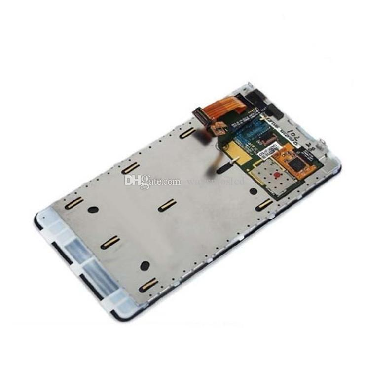 2018 Quality AaaLcd Monitor ForLumia 800 N800 Lcd Screen And Touch ...