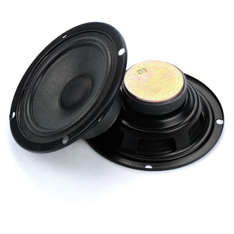 Freeshipping 2pcs Full Range Speaker 6 ohm 10W Audio Loudspeaker 3inch 6ohm  HIFI Subwoofer Car Stereo Home Theater Audio Bass DIY Speaker