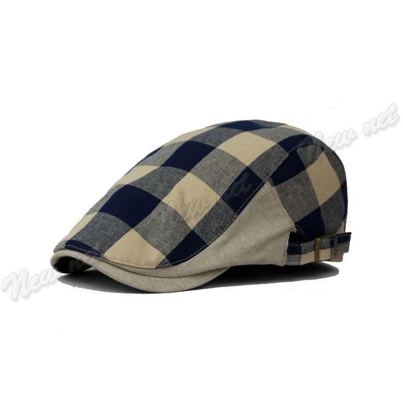96663c3820a Wholesale- Fashion Duck Mesh Summer Gatsby Casual Berets Cap Mens Hat Golf  Driving Sun Flat Cabbie Newsboy 4 Choices Beret Cap Men Beret Cap Golf Drive  ...