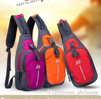 bab046410075 Oxford Chest Bag Outdoor Sport Travel Hiking Shoulder Sling Backpack ...