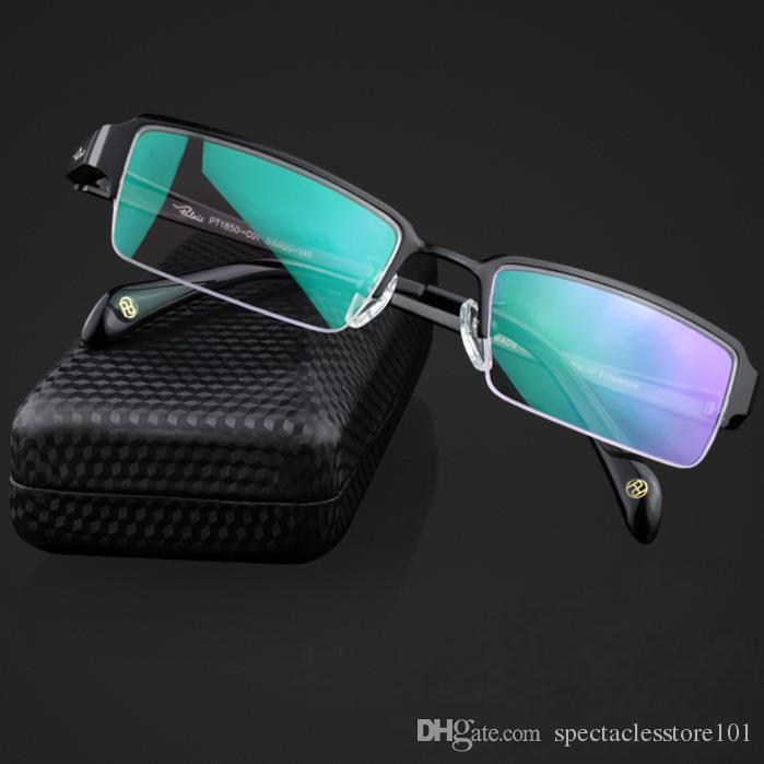 Compre Nuevo Marco De Gafas Óptico Sin Montura Para Hombres New ...