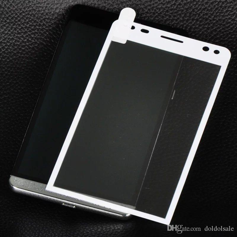 Pellicola protettiva schermo in vetro temperato a piena copertura HP Elite X3 + pellicola protettiva salviette detergenti Nessuna confezione da 100 pezzi