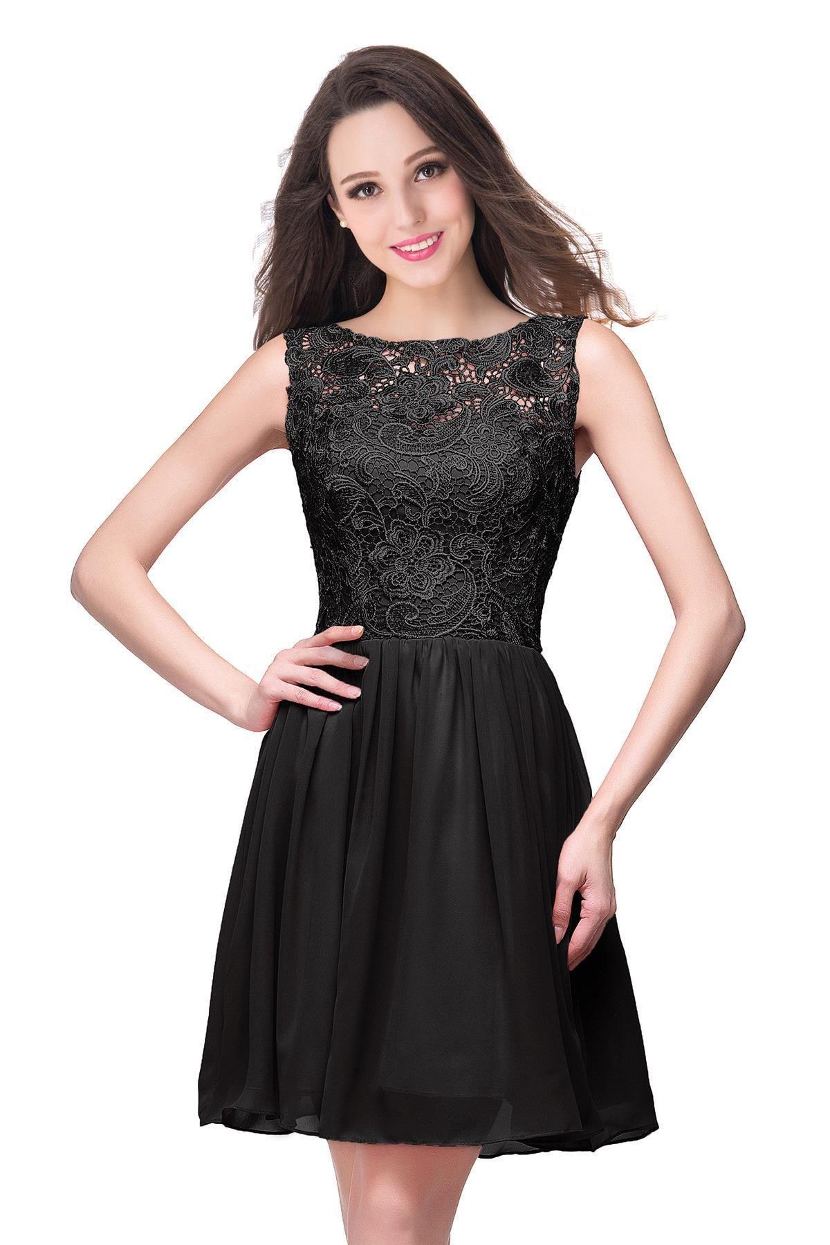 2020 Cheap Lavender A Line Chiffon Designer Prom Dresses Lace Top Knee Length Short Evening Dresses Formal Party Gowns Bridesmaid dresses