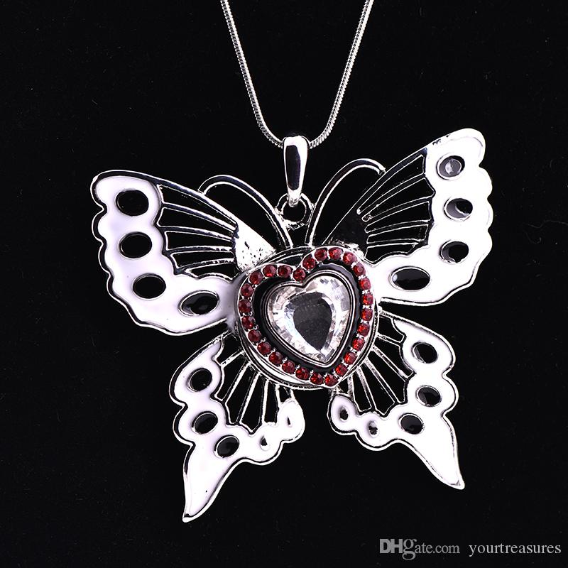 Papillon 18 MM Bouton Gingembre Snap Boutons DIY Interchangeable Pour Les Femmes Déclaration Collier Bijoux 2017 Avril Style