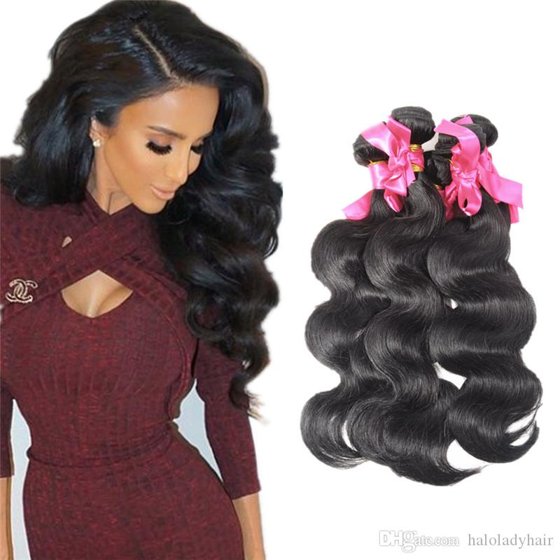 Cheap halo lady brazilian body wave human hair weaves bundles cheap halo lady brazilian body wave human hair weaves bundles double weft peruvian virgin hair extensions 8inch 30inch natural color weaving hair extensions pmusecretfo Image collections