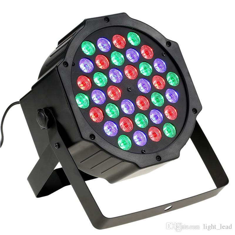 Laser lights Sound Activation Stage Light 36LED Remote Control PAR Light RGB Wash Effect Stage Lamp Party DJ Bar Club