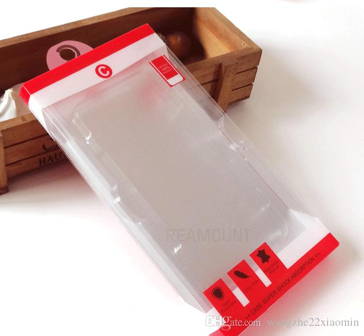 scatola di imballaggio in PVC di alta qualità all'ingrosso la copertura della cassa del telefono mobile iphone 6 6 più copertura della cassa del telefono con vassoio interno