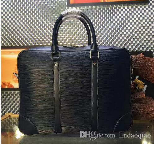 Famous Brand Name Men Bag Epi Leather Men Shoulder Bag High ...