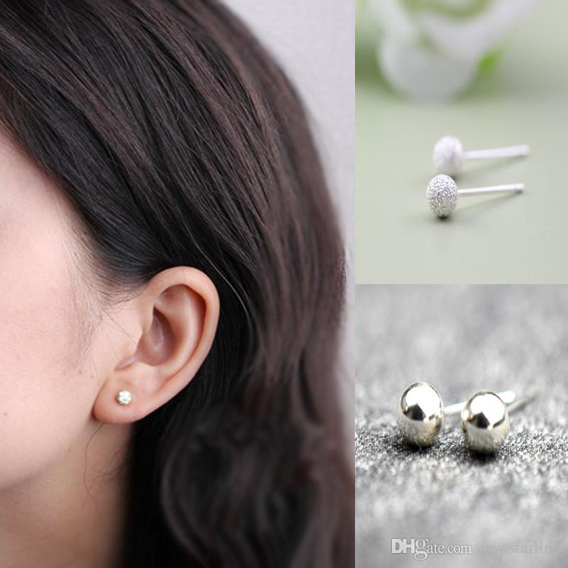 b1a0cc5f9 Cheap Sterling Silver Water Drop Ring Wholesale Sterling Silver Punk  Earrings
