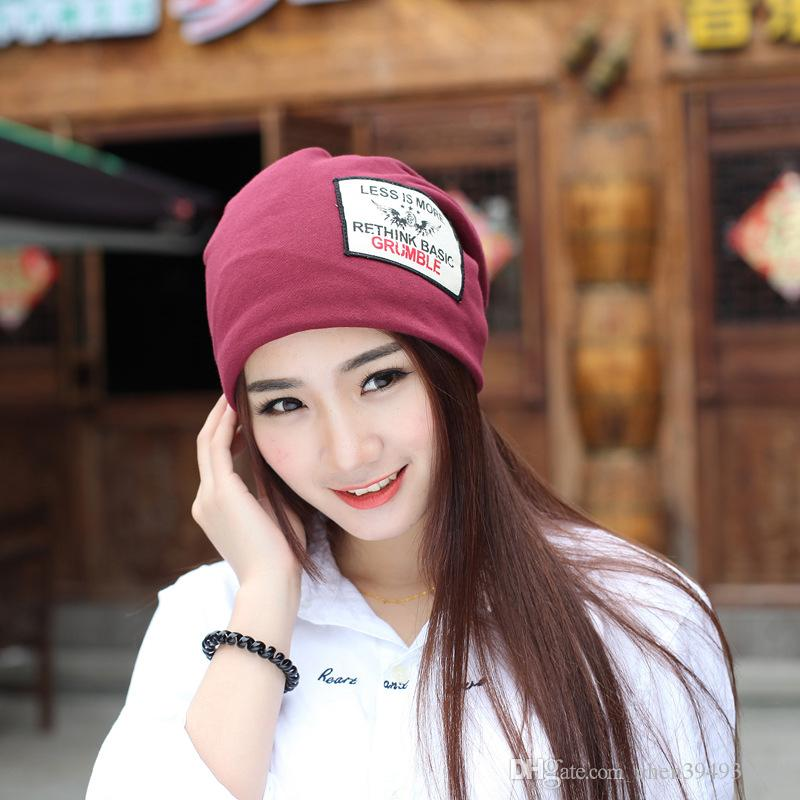 eb17983a615772 2019 Women'S Winter Hat Knitted Wool Beanies Female Fashion Skullies Casual  Outdoor Ski Caps Thick Warm Hats For Women From Chen394931608, $3.35 |  DHgate.