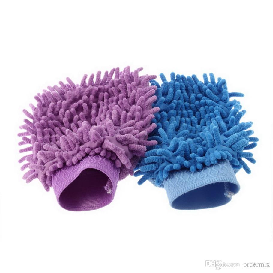 Mitt микрофибры автомойка перчатки стиральная очистки анти-царапин автомойка бытовой уход щетка