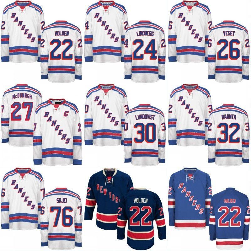 ... coupon code for 2017 mens new york rangers custom jerseys 22 nick  holden 24 oscar lindberg ... bb9a70bf1