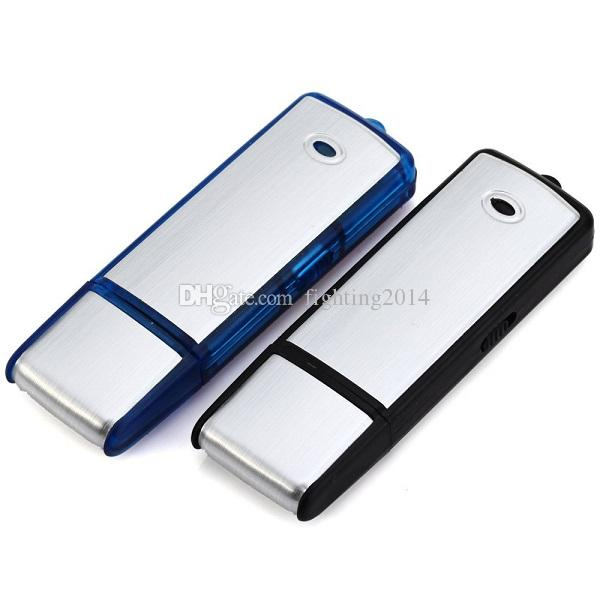 8 GB Mini Disco USB Grabadora de Voz Dictáfono Recargable Pluma de Grabación USB Unidad Flash USB Grabadora de Voz digital envío de la gota