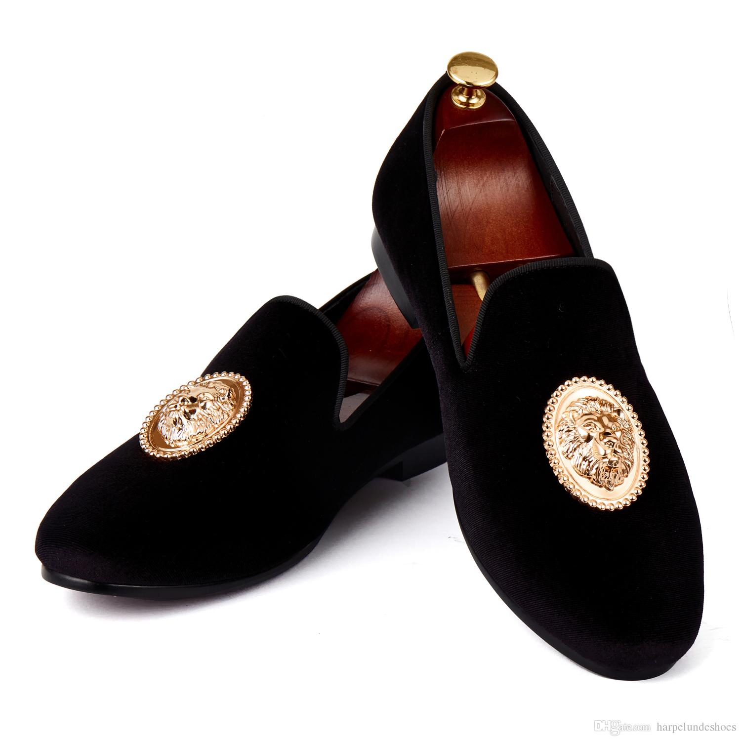 Gold Dress Shoes Mens